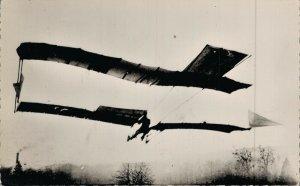 Aviation 1904 Le Précurseur Capitaine Ferber sur son n5 Airplane RPPC 07.30