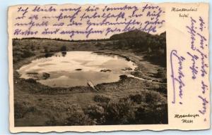 *Germany Manderscheid Eifel Mosenberger Maar Vintage Postcard C55