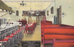 P1784 vintage  washington coffee shop bedford penn