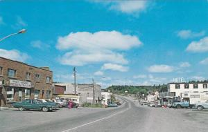 Main Street , Business district , TEMAGAMI , Ontario , Canada , 50-60s