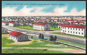 Parade Grounds Camp Gordon Augusta Georgia Unused c1930s
