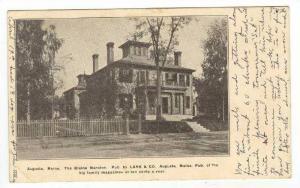 The Blaine Mansion (Exterior),Augusta,Maine,PU-1907