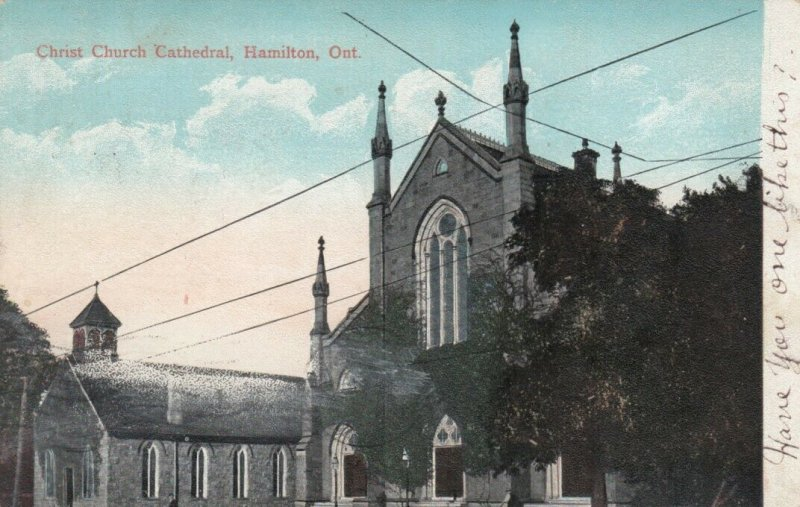 HAMILTON , Ontario , Canada , 1908; Christ Church Cathedral