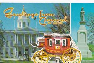 New Hampshire Greetings From Concord