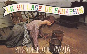 La Village De Seraphin,  Ste-Adele,  Quebec,  Canada,  PU_1986