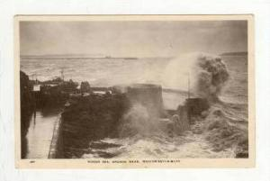RP, Rough Sea, Anchor Head, Weston-Super-Mare (Somerset), England, UK, PU-1929