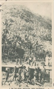 NEW CALEDONIA (Nouvelle Caledonie) , 1910-30s ; On The Road ; HOUAILOU