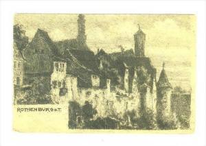 Partial View, Mitteilungen, Rothenburg O. T. (Bavaria), Germany, 1900-1910s