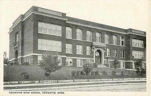 Keewatin High School Keewatin Minnesota MN Divided Back PC