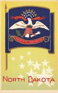 North Dakota Hand Made Original Serigraph M.A. Sheehan Part of Set #123 Postcard