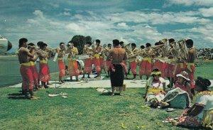 SAMOA , 50-60s ; Band at airport