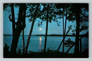 Muskoka Ontario- Canada, General Greetings, Peninsula Lake, Chrome Postcard
