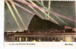 Postal 035951 : Una vista del Pe?n de Gibraltar