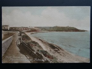 Cornwall FALMOUTH Cliff Drive & Pendennis Point - Old Postcard by J.H. Lake & Co