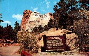 South Dakota Black Hills Mount Rushmore National Monument