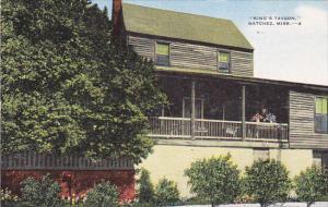 Mississippi Natchez King's Tavern 1954