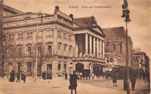 Poland Breslau Blick auf Stadttheater, Wroclaw