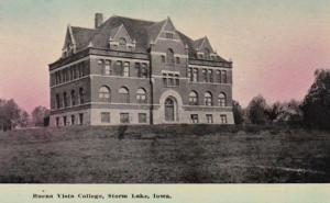 Iowa Storm Lake Buena Vista College