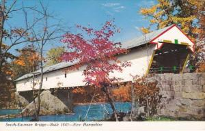 Smith-Eastman Covered Bridge near Redstone NH, New Hampshire