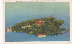 New York Thousand Islands Heart Island From The Air Near Alexandria Bay