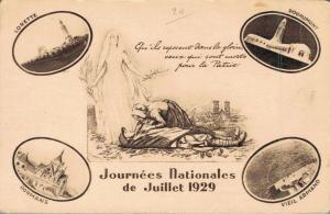 Military Journées Nationales de Juillet 1929 02.90