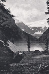 ALBERTA, Canada, 1900-1910's; Lake Louise On Line Of Canadian Pacific Railway