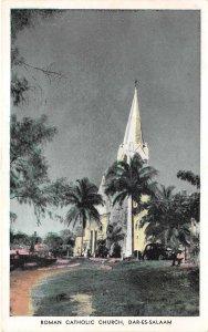 br104402 roman chatolic church dar es salaam africa real photo  tanzania