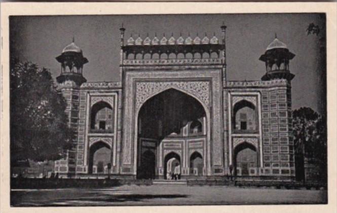 India Agra Gateway Taj Mahal