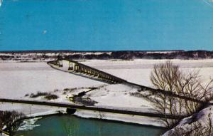 Island of Orleans Bridge , Quebec , Canada , PU-1970