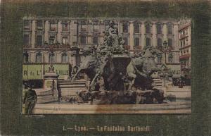 La Fontaine Bartholdi, Lyon (Rhone), France, 1900-1910s