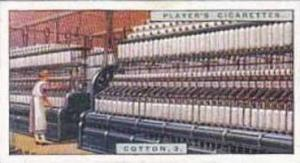 Player Vintage Cigarette Card Products Of The World 1928 No 19 Cotton 3 Spinn...