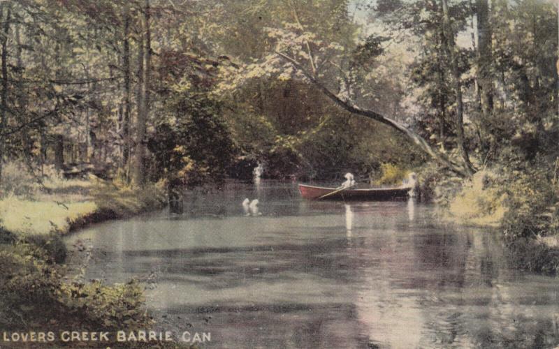 BARRIE , Ontario , Canada , 1909 ; Lovers Creek