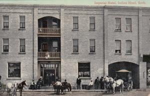 INDIAN HEAD , Saskatchewan , Canada , 00-10s ; Imperial Hotel