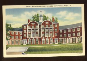 Northampton, Massachusetts/MA Postcard, Franklin King House, Smith College