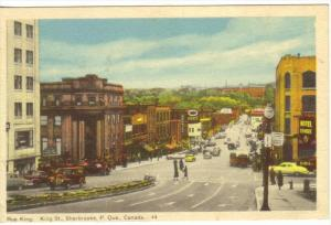 Rue King  , SHERBROOKE , Quebec , Canada , 30-40s