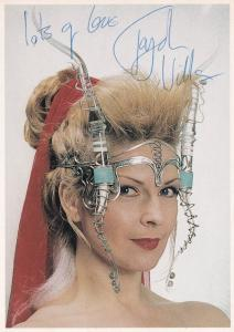 Toyah Wilcox As Punk Rocker Vintage Hand Signed Photo
