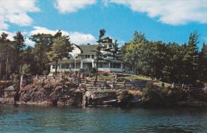 THOUSAND ISLANDS, Ontario, Canada, 1940-1960's; Manitonna Island