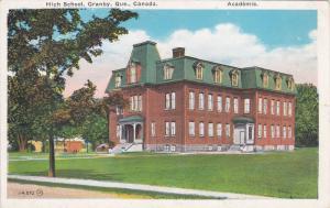 GRANBY, Quebec, Canada; High School, Academie, 10-20s