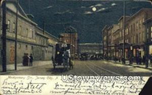 Montgomery Street Jersey City NJ Writing On Back