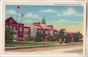 Deering High School, Portland ME