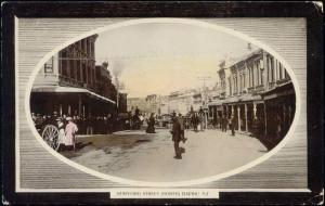 new zealand, TIMARU, Stafford Street (1911)