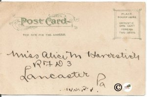 Undivided Back Postcard, The Capitol, Washington D. C. Souvenir Post Card