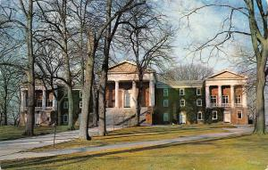 Newark The University of Delaware~The Old College~Shade Trees, Pillars 1950s