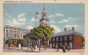 Independence Hall Philadelphia Pennsylvania 1950