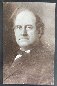 Mint USA Real Picture Postcard Politician William Jennings Bryan WJB