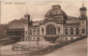 Dresden Germany Hauptbahnhof 01.18