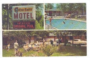 Quo Vadis motel , Kelowna , B.C. , Canada , 50-60s