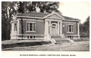 Maine Castine , Witherie Memorial Library