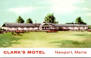 Maine Newport Clark's Motel