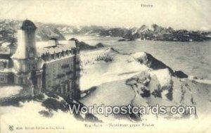 Nebelmeer gegen Piilatus Rigi Kulm Swizerland Unused